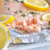 baked herb butter salmon recipe