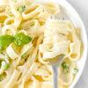 Lemon Parmesan Pasta with Spring Peas