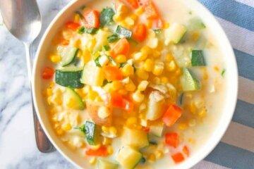 summer vegetable chowder