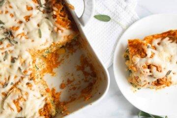 pumpkin and vegetable lasagna