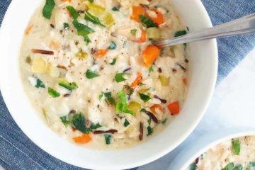 turkey chicken wild rice soup