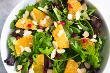 orange pomegranate salad