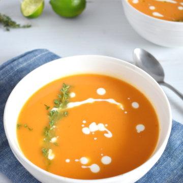 chili lime sweet potato soup