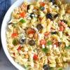 healthy greek pasta salad