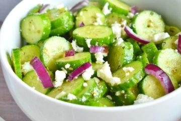 cucumber feta salad cucumber salad