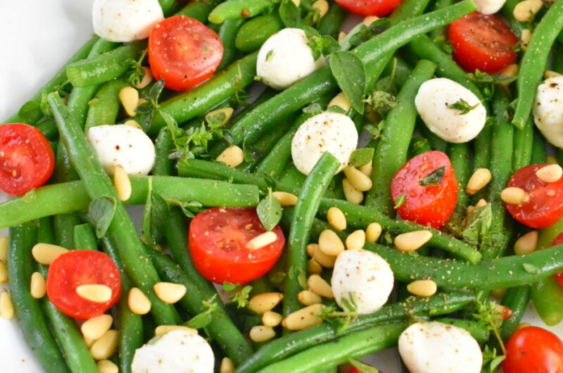 Green Bean Salad with Lemon Herb Vinaigrette