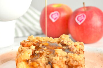 pink lady apple cinnamon french toast