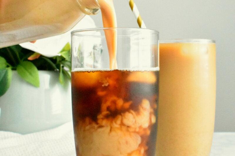 Homemade Pumpkin Cream Cold Brew Coffee