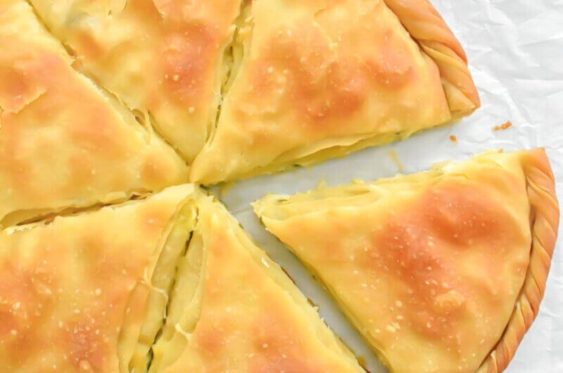 Prasopita (Greek Leek Pie)