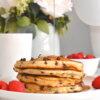 chocolate chip ricotta pancakes