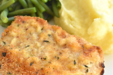 baked breaded pork chops recipe