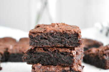 fudgy homemade brownies recipe