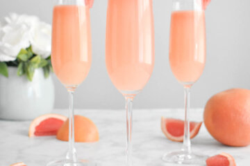 grapefruit mimosa cocktail recipe