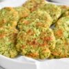 cheesy broccoli fritters recipe