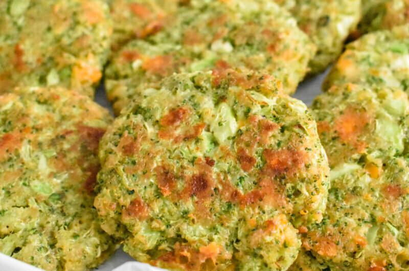 Cheesy Broccoli Fritters