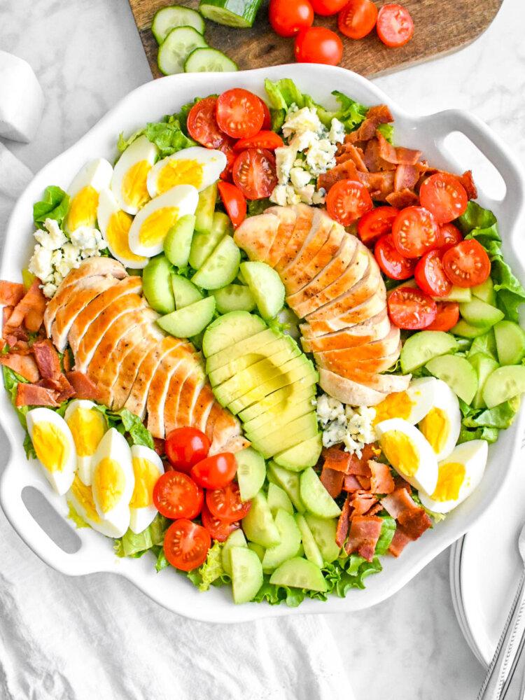 Cobb Salad with Honey Mustard Vinaigrette