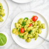 Summer Gnocchi with Corn, Tomatoes & Pesto
