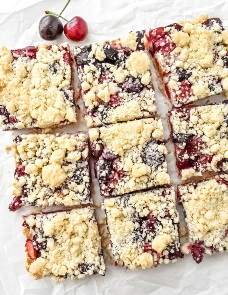 Cherry Crumb Bars