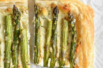 Asparagus Puff Pastry Tart