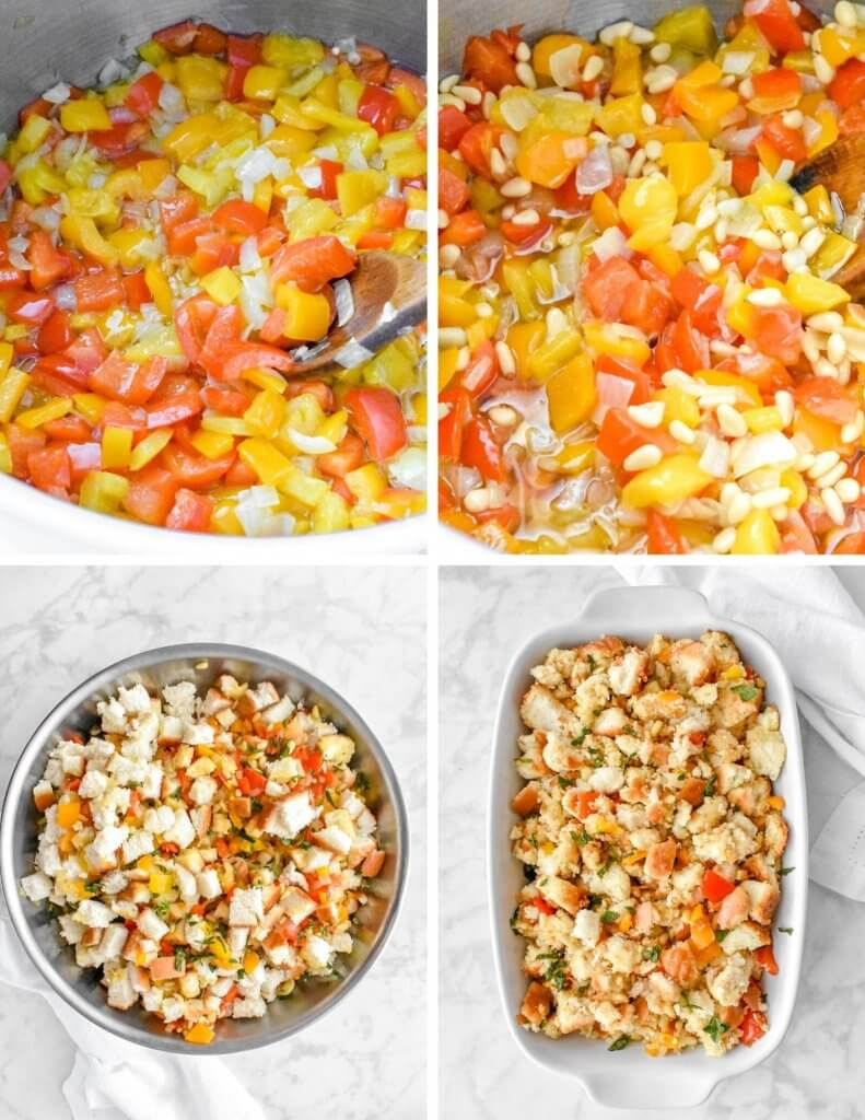 Steps for Making Classic Stuffing